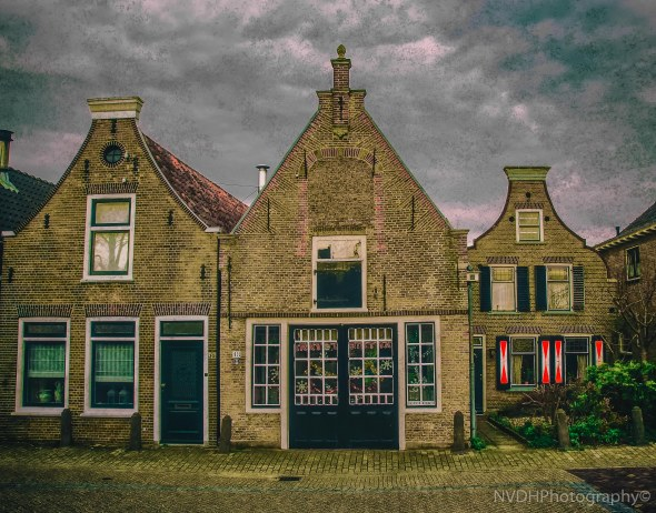 Old architecture Schipluiden the Netherlands